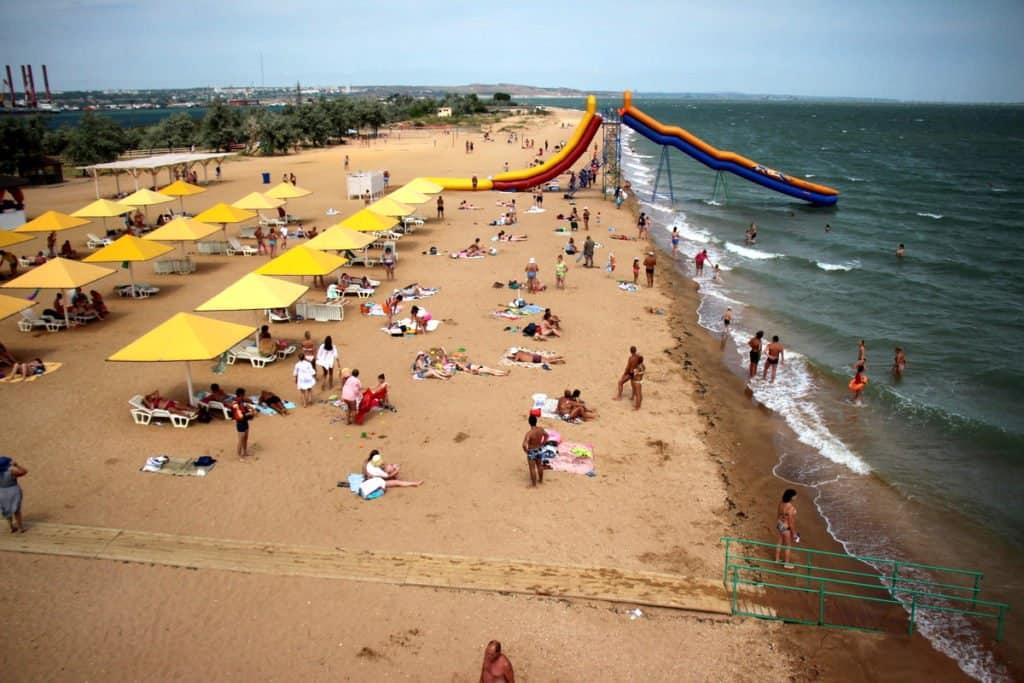 Лучшие пляжи Керчи: на карте, фото, отзывы, отдых
