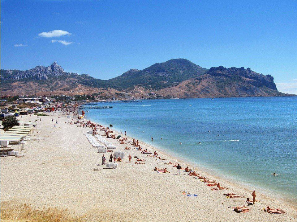 Пляжи Коктебеля: центральные, дикие, нудистские, фото с описанием